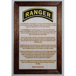 US Army Ranger Creed