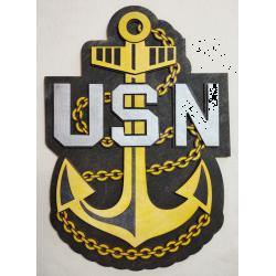 US Navy Chief's Emblem